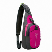 LCtech TM Unbalance Backpack Shoulder Sport Wenger Sling Chest Bag Satchel for Outdoor Sport Travel Cycling Camping and Hiking Storage