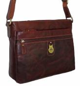 Rowallan Women's Tan Brown Leather Shoulder Bag