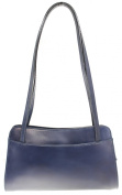 CTM Small women's shoulder bag, 30cm x 18cm x 4.90cm , 100% Genuine leather made in Italy.