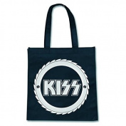Official Eco Shopper Tote Shopping Bag KISS Classic Logo Metal