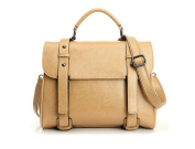 Women Ladies' Genuine Leather Tote Satchel Handbag Fashion Casual Shoulder bag 5082#