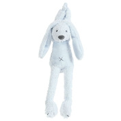 Happy Horse - Rabbit Richie - Musical Soft Baby Toy - Blue 34cm