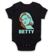 Inspired by Mad Men Betty Draper Unofficial Baby Grow