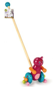 Oops Little Helper Mr. Jerry Pull Along Wooden Toy in Vibrant and Cute Cat Design