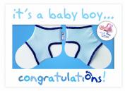 Sock Ons Congratulations Boy Gift Card