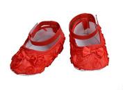 Cinda Baby Girls Flower Shoes