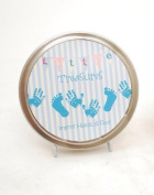 Little Treasures Imprint Tin - Blue