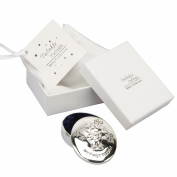 Twinkle Twinkle Silverplated Baby Gift and Bag - First Tooth Box