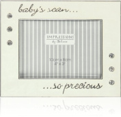 SilverPlated and Epoxy Baby's Scan Photo Frame 10cm x 7.6cm ...so precious