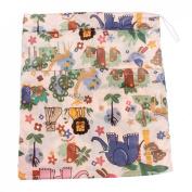 Baby Waterproof Zipper Bag Washable Reusable Baby Cloth Nappy Bag