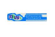 Oranurse Toothpaste 50ml Unflavoured 1450ppm Fluoride