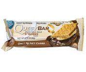 Quest Nutrition, Protein Bar, S'mores Flavour - 1 BAR - 60ml