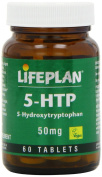 Lifeplan 5 Hydroxytryptophan 50mg 60 Tablets