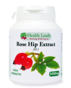 High Strength Rosehip (extract 20:1) 5000mg x 90 capsules - Rosa canina