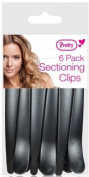 Pretty 6 Pack Hair Sectioning Clips