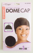 Magic Collection Expandable / Short-Look Dome Cap With Elastic Band No 2251 BLA