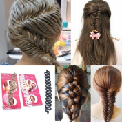 SystemsEleven Fashion Women Hair Braiding Tool Roller With Magic Twist Hair Accessories
