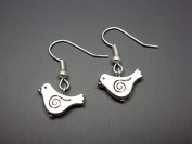 Little Bird Earrings - Tiny Bird Earrings Cute Earrings Simple Earrings Animal Earrings Silver Plated Small Bird Earrings Chic Jewellery