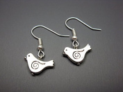 Little Bird Earrings - Tiny Bird Earrings Cute Earrings Simple Earrings Animal Earrings Silver Plated Small Bird Earrings Chic Jewellery