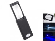 Surfwheel 2-in-1 Folding Pull Out LED Magnifier - 45x Lens + 2.5x Magnifying Jeweller Loupe