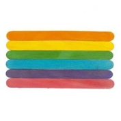 Coloured Jumbo Craft Sticks-Bag of 500