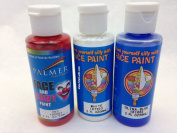 Red, White and Blue Three Pack of Face Paint