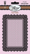 HOTP Paper Artist Lacy Frame Embossing Folder HOTP6017