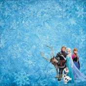 Disney Paper 30cm x 30cm -Frozen Group
