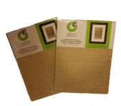 Creative Essentials Printable Laminated Burlap Sheets- 22cm X 28cm -