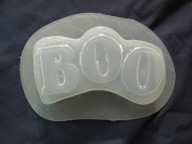 Qty-2 Halloween Boo Bar Soap or Plaster Mould 4638