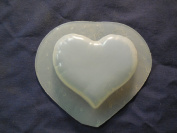 Qty-2 Heart Soap or Plaster Plaque Mould 4542