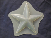 Qty-2 Star 11cm Soap or Plaster Plaque Mould 4541