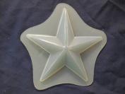 Qty-2 Star 11cm Soap or Plaster Plaque Mould 4541