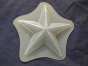 Qty-2 Star 8.3cm Soap or Plaster Plaque Mould 4540