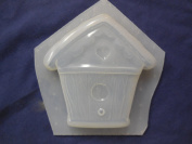 Qty-2 Birdhouse Soap or Plaster Plaque Mould 4538