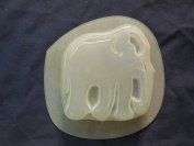 Qty-2 Elephant Bar Soap or Plaster Plaque Mould 4536