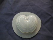 Qty-2 Decorative Seashell Soap or Plaster Mould 4517
