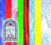 Roylco Stained Glass Pattern Craft Paper, Pack - 24