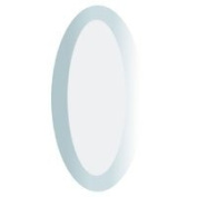 Stained Glass Supplies - 5.1cm x 10cm Clear Oval Bevels pack of 5