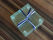 Set of 4 Glass Coasters