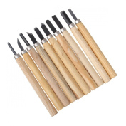 PEPPERLONELY Brand 1 Set Natural Colour Wood Carving Knife Craft Tools