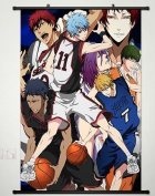 Home Decor Anime Kuroko no Basket Wall Scroll Poster Fabric Painting Kuroko whole roles 132 S