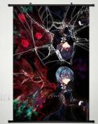 Home Decor Anime Tokyo Ghoul Wall Scroll Poster Fabric Painting Kirishima Touka 164 S