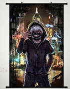 Home Decor Anime Tokyo Ghoul Wall Scroll Poster Fabric Painting Kaneki Ken 172 L