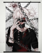 Home Decor Anime Tokyo Ghoul Wall Scroll Poster Fabric Painting Kaneki Ken 170 S