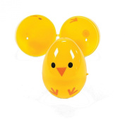 Easter Egg Chicks- Plastic Containers for Party Favours and Easter Egg Hunts