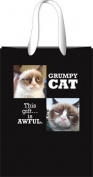 Grumpy Cat Grid Gift Bag