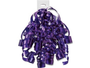 PURPLE PUNCH High Gloss Curly Bows12 Strands