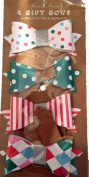 Meri Meri Toot Sweet Small Paper Bows - Package of 4