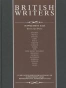 British Writers, Supplement XXII